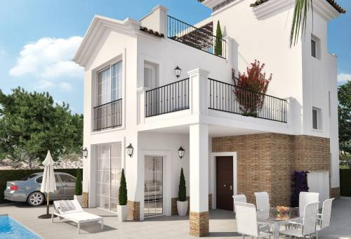 Villa - New Build - Torrevieja - Playa del Cura