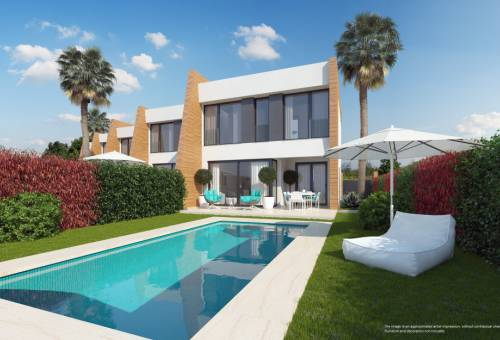 Villa - New Build - Orihuela Costa - Villamartin
