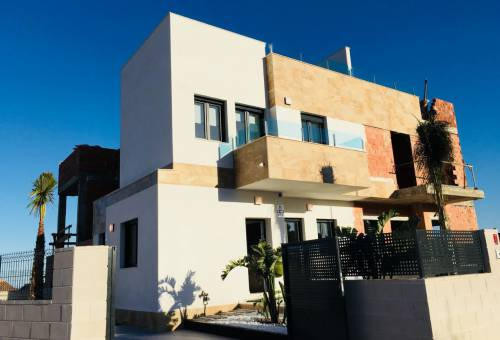 Townhouse - New Build - Polop - Polop Centro Ciudad