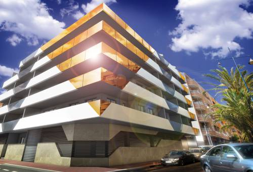 Apartment/Flat - New Build - Torrevieja - Playa del Cura