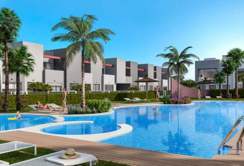 Bungalow - New Build - Torrevieja - Aguas Nuevas