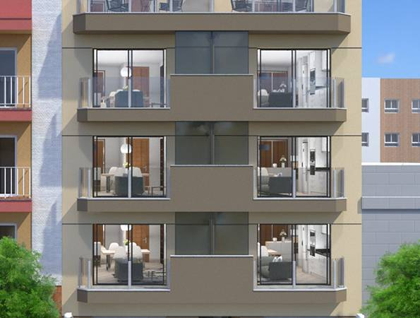 Studio apartment - New Build - Torrevieja - Playa del Cura